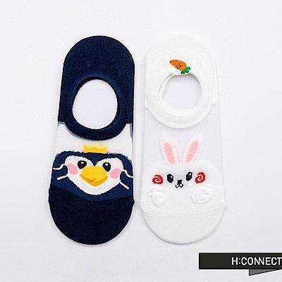 H:CONNECT 韓國品牌 -可愛動物短襪組