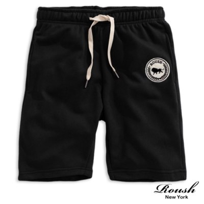 Roush 美式貼布水洗短棉褲(4色)