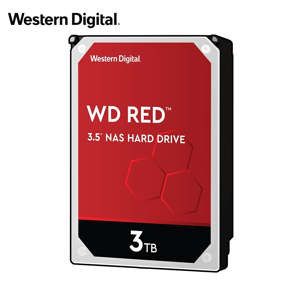 WD30EFAX 紅標 3TB 3.5吋NAS硬碟(NASware3.0)
