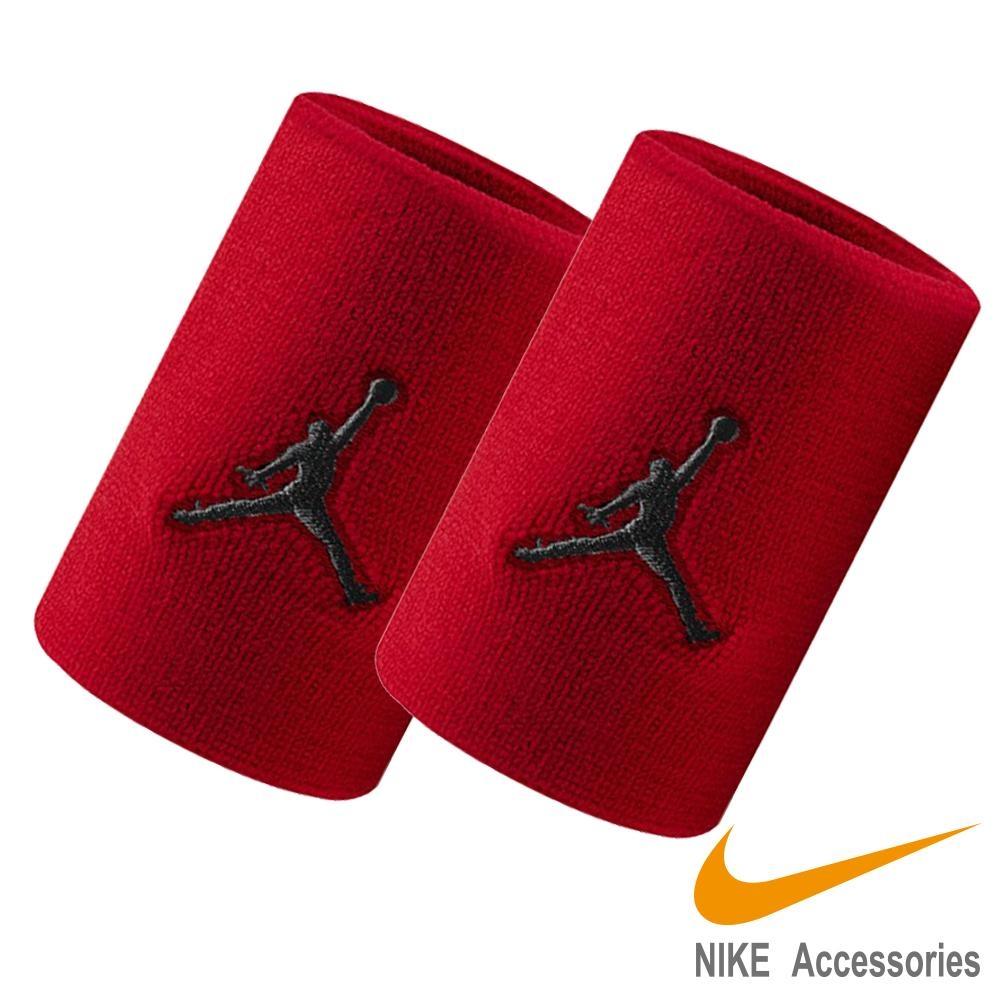 NIKE JORDAN DRI-FIT單色腕帶-紅色