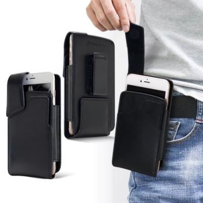 Achamber SONY Xperia 10 II/Sony Xperia 1 II 紳士真皮直立可旋轉插卡皮套
