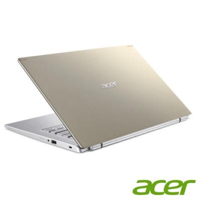 (升級16G,雙碟)Acer A514-54G-56X3 14吋筆電(I5-1135G7/MX350/8G+8G/1TB HDD+512G SSD/金/特仕版)