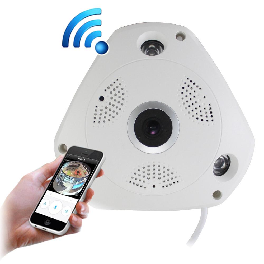 IS愛思 IR-3602K VR全景高畫質紅外線網路監控攝影機