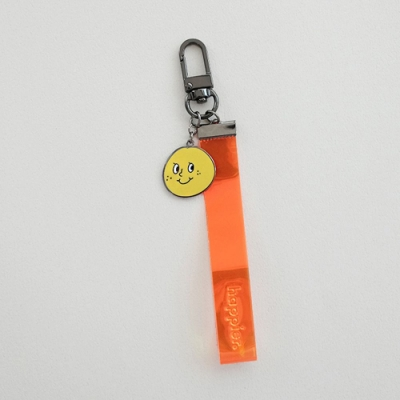 oh lolly day 炫彩萬用鑰匙圈吊飾-黃色橘子