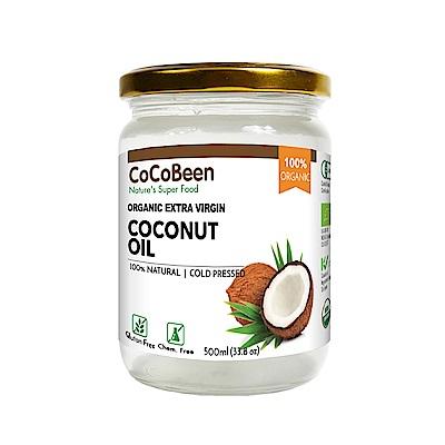 斯里蘭卡CoCoBeen 原裝進口 第一道有機初榨冷壓椰子油(500ml)