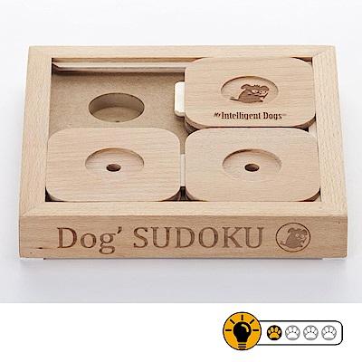 【靈靈狗】狗狗數獨Dog'Sudoku?(低階版)寵物桌遊/益智玩具/互動遊戲