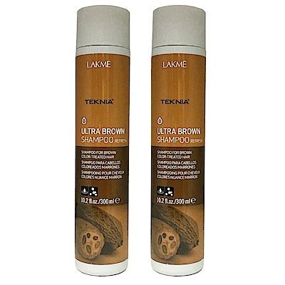 LAKME萊肯 極棕 洗髮精 300ML (2入)