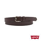 Levis 女款 皮帶 質感金屬釦 字母Logo壓紋