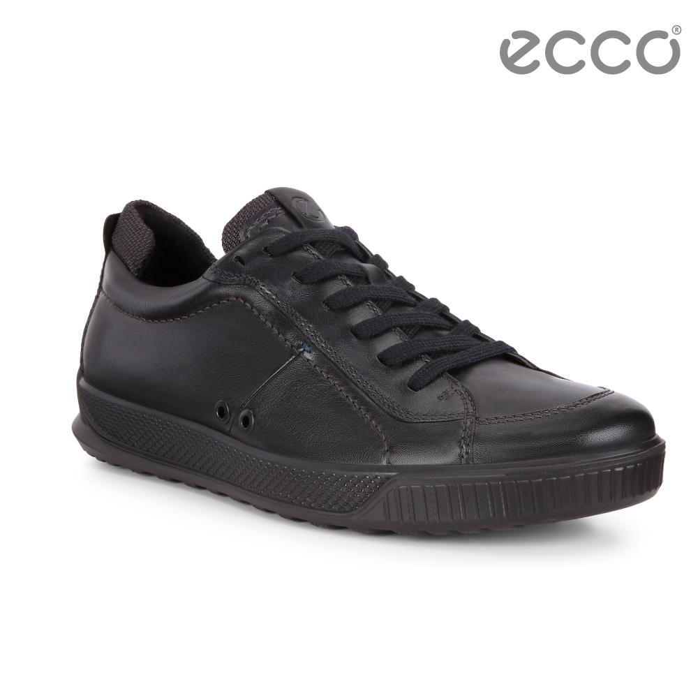 ECCO BYWAY 經典休閒綁帶休閒鞋 男-黑