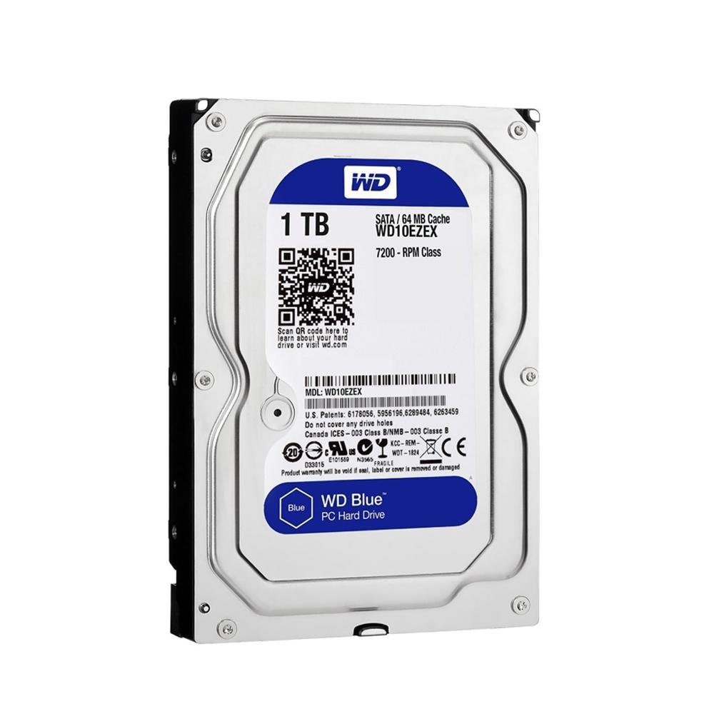 WD 威騰 藍標 1TB 3.5吋 7200轉 SATA3 硬碟(WD10EZEX)