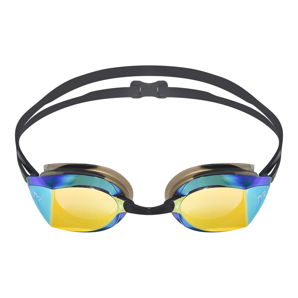 美國TYR FINA認證成人用競速電鍍泳鏡 Edge-X Racing Mirrored Adult Fit