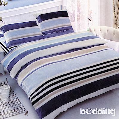 BEDDING-活性印染 特大6x7尺床包三件組-條紋主義