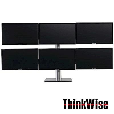 Thinkwise L601 六螢幕支架 桌上型 平臂式