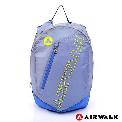 【AIRWALK】超輕量半透後背包-螢黃