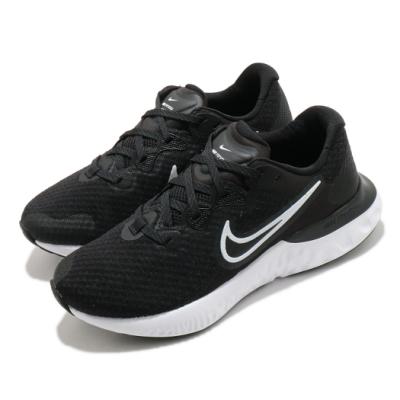 Nike 慢跑鞋 Renew Run 2 運動 女鞋 輕量 透氣 舒適 避震 路跑 健身 球鞋 黑 白 CU3505005