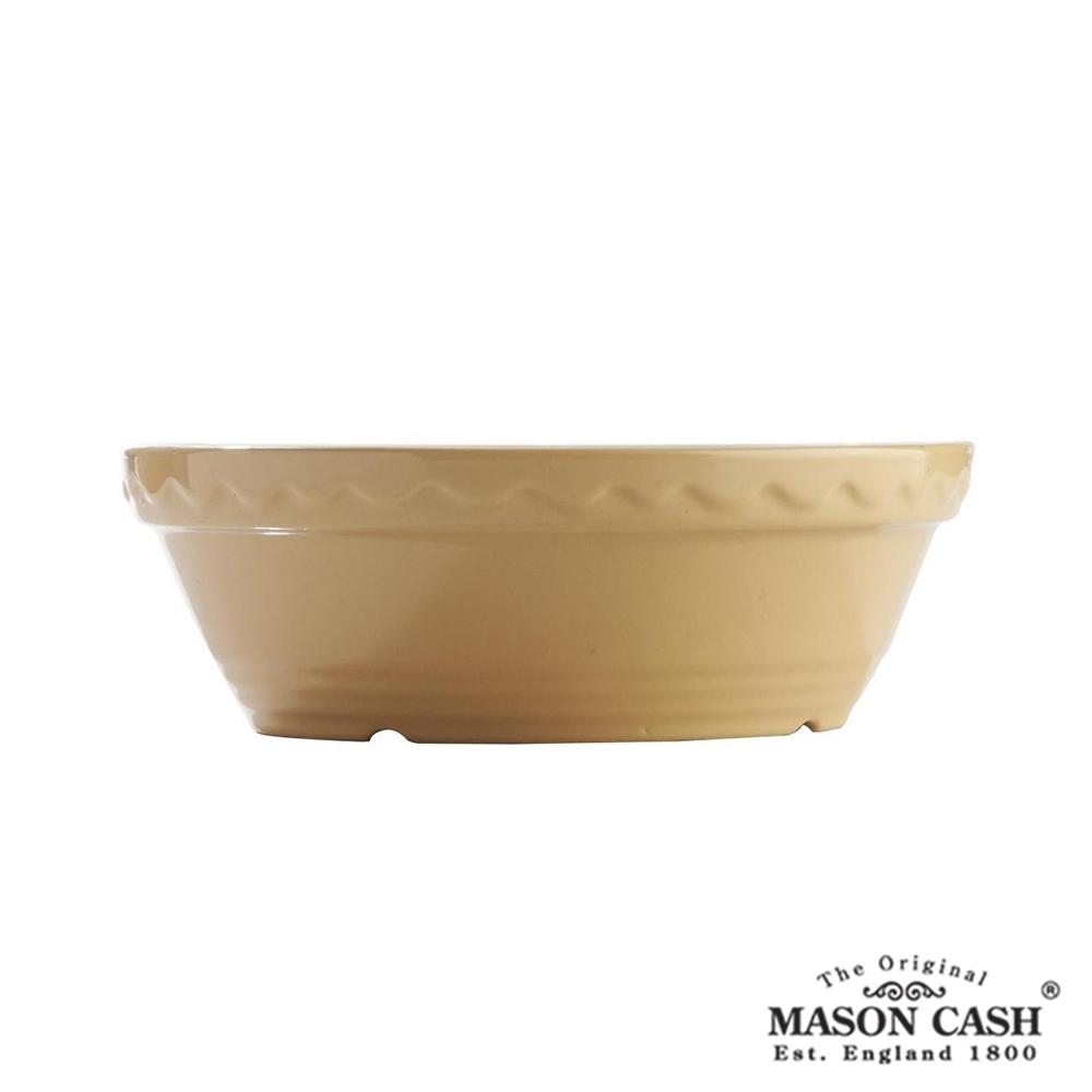 MASON 浮雕陶瓷烤派盤15CM(黃)