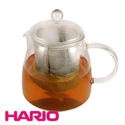 【日本 HARIO】耐熱泡茶玻璃壺 附濾網 700ml(CHEN-70T)