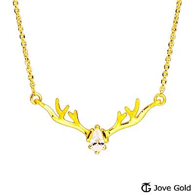 Jove Gold 漾金飾 森林之舞黃金項鍊