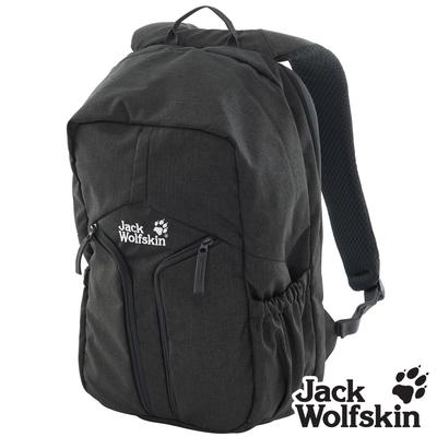 【Jack wolfskin 飛狼】Urban 18L 經典城市休旅背包 (筆電防護 / 減壓式背帶)『黑色』