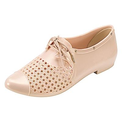MELISSA 帥氣中性型鞋-米