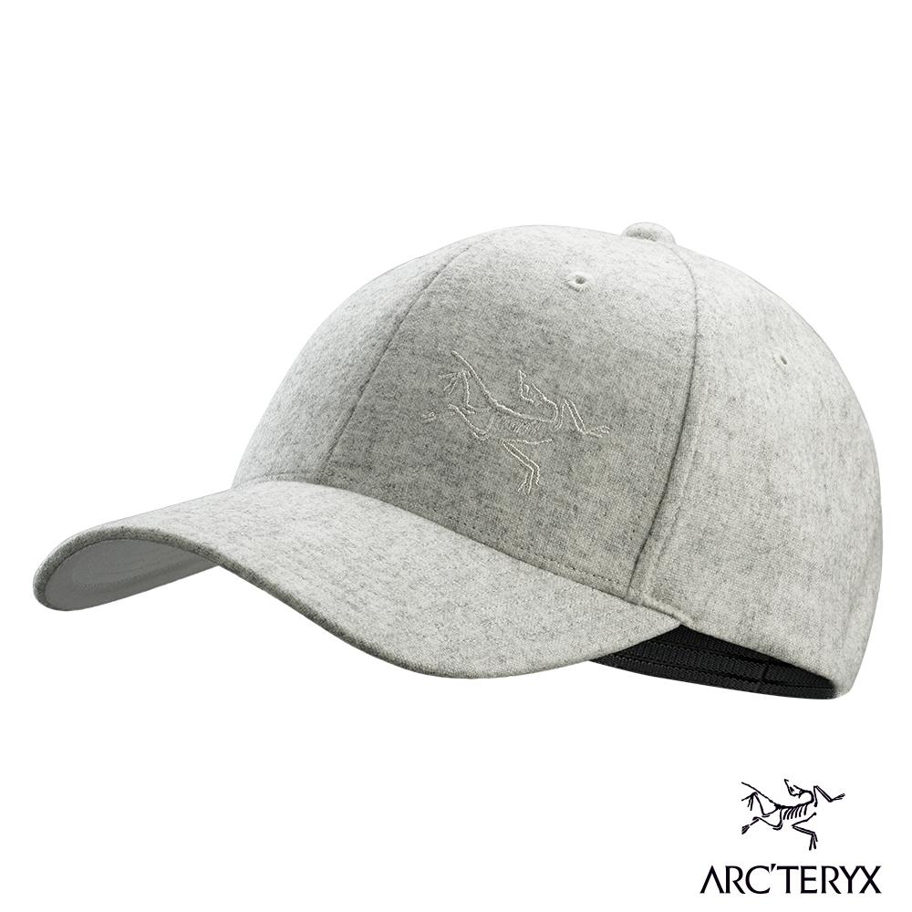 Arcteryx 始祖鳥 羊毛棒球帽 淺雜灰