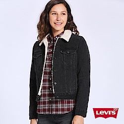 Levis 牛仔外套 女裝 毛領Sherpa