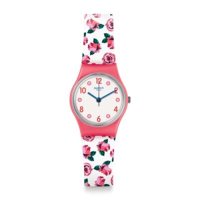 Swatch I love your folk系列手錶 SPRING CRUSH 玫瑰花園