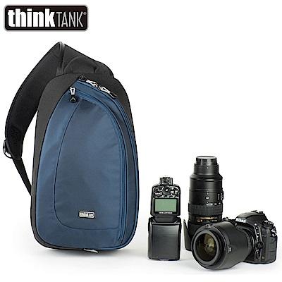 thinkTank 創意坦克 TurnStyle 20 V2.0 翻轉包-大 單肩斜背-藍