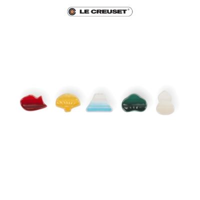 Le Creuset-幸運圖騰筷架5入組