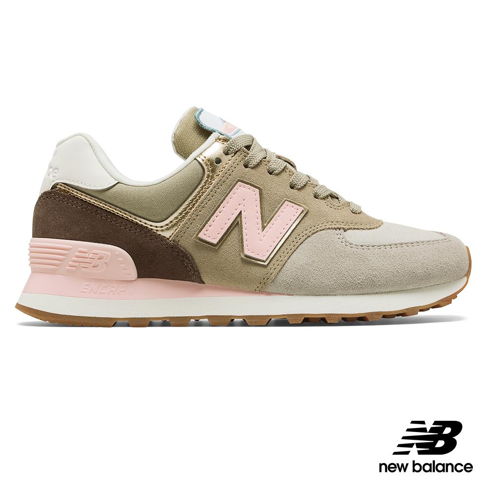 New Balance 復古鞋_WL574MLA_女性_卡其