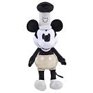 Disney 米奇90週年紀念版 絨毛娃娃-威利號汽船米奇 ver. 經典黑白色