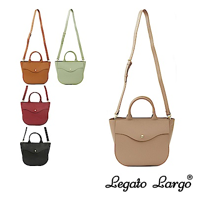 Legato Largo 驚異的輕量化 小法式手提斜背馬鞍包 Regular