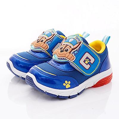 汪汪隊立大功 電燈運動鞋款 DEI3042藍(中小童段)