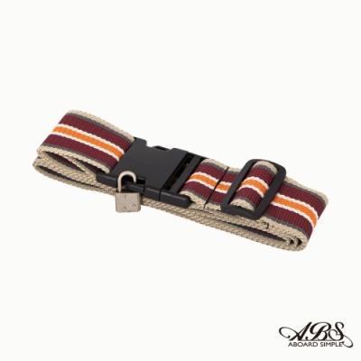 ABS愛貝斯 台灣製造繽紛旅行箱束帶單入 捆綁帶 可調式行李打包帶66-051D1