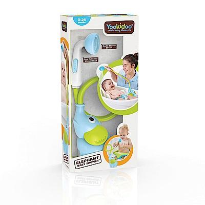 Yookidoo 以色列 洗澡/ 戲水玩具 - 小象蓮蓬頭-藍
