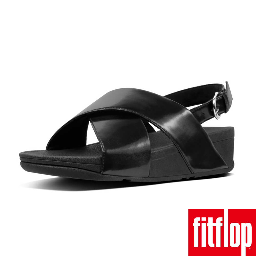 FitFlop LULU CROSS BACK- MIRROR 鏡面黑