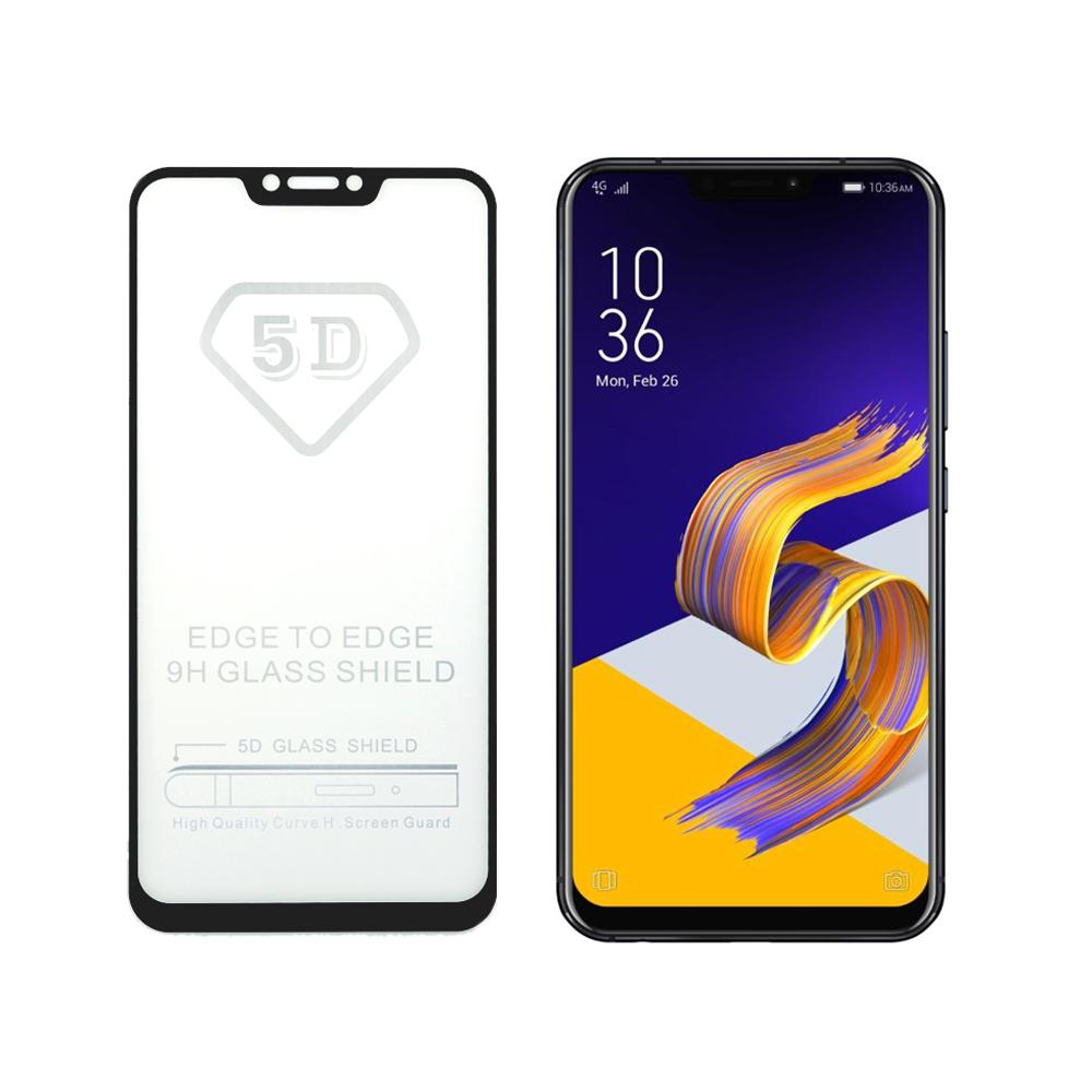揚邑ZenFone 5/5Z ZE620KL/ZS620KL全膠5D滿版二次強化玻璃保護貼