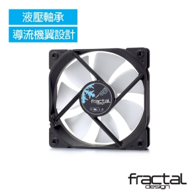 【Fractal Design】 Dynamic X2 GP-14 PWM 白 靜音風扇