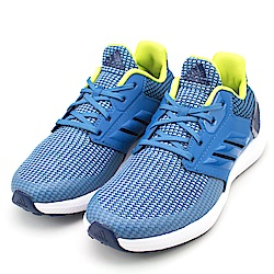 ADIDAS 中大童跑步鞋-CQ0153 藍