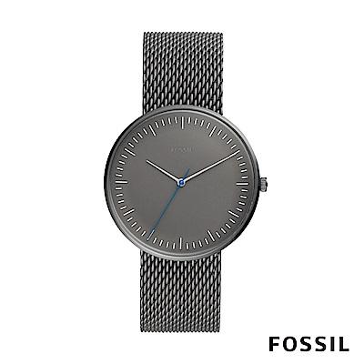 FOSSIL Essentialist 極簡風格鍊錶-銀