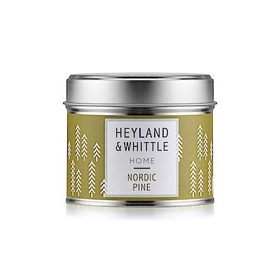 H&W英倫薇朵 北歐雪松香氛燭罐180g