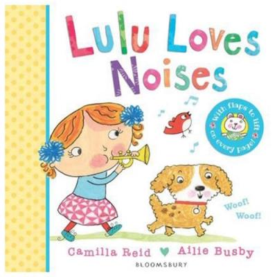 Lulu Loves Noises 可愛Lulu愛聽的聲音硬頁書