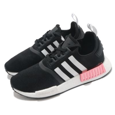 adidas 休閒鞋 NMD R1 W 襪套式 女鞋 愛迪達 三葉草 緩震 Boost底 穿搭 黑 粉 FY3771