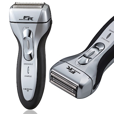 日本IZUMI銳角三刀頭快充電鬍刀 FR-300