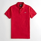 Hollister HCO 短袖 polo 紅色 1214