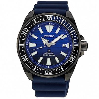 SEIKO 精工 PROSPEX 潛水機械手錶 SRPD09J1-藍/43.8mm