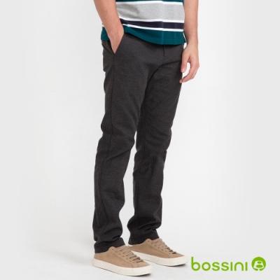 bossini男裝-彈性長褲02鐵灰