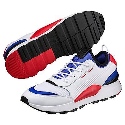 PUMA-RS-0 SOUND男復古慢跑鞋-白色
