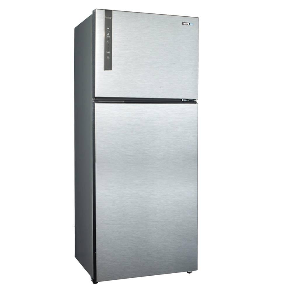 福利品 SAMPO聲寶 535L 1級變頻2門電冰箱 SR-B53D(K3) 漸層銀