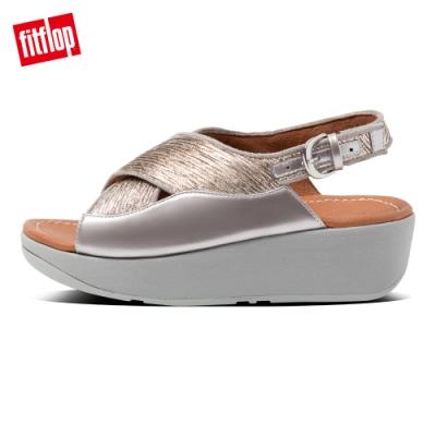 FitFlop MYLA GLITZ BACK-STRAP SANDALS後帶涼鞋-女(銀色)